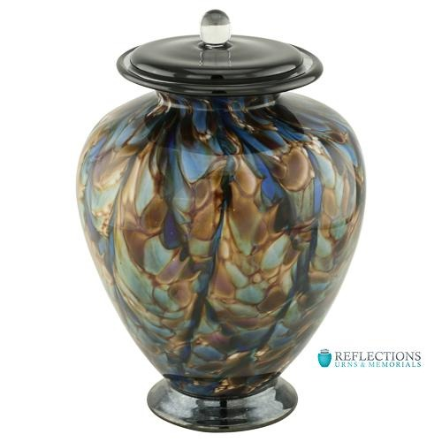 SONATA HAND BLOWN GLASS URN - Caskets Warehouse