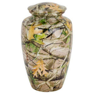 NEXT G-1 VISTA CAMOUFLAGE URN - Caskets Warehouse
