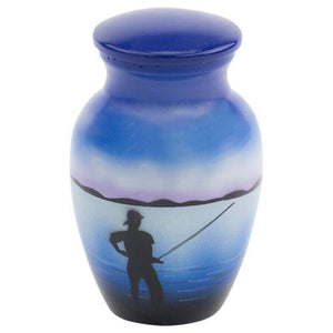 FISHING CREMATION URN - Caskets Warehouse