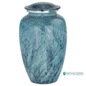 AQUA HARBOR ALUMINUM URN - Caskets Warehouse
