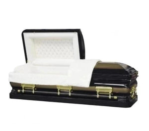 ONYX BLACK & GOLD - Caskets Warehouse