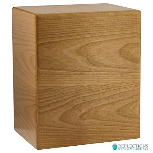 ARDEN ALDER EXTRA LARGE WOOD URN - Caskets Warehouse
