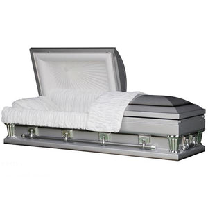 "OVERSIZE SILVER - 31"" - Caskets Warehouse"