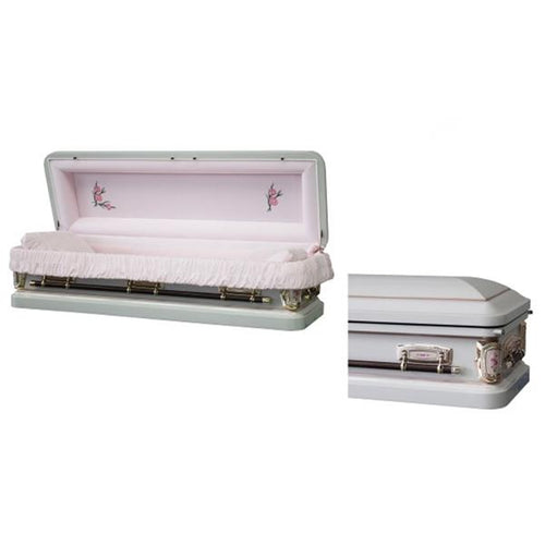 CARNATION FULL COUCH WITH FOOT PANEL - Caskets Warehouse