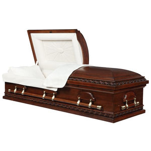 CHERRY CARVED POPLAR - Caskets Warehouse