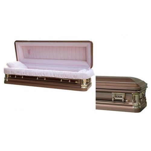 SILVER ROSE FULL COUCH - Caskets Warehouse