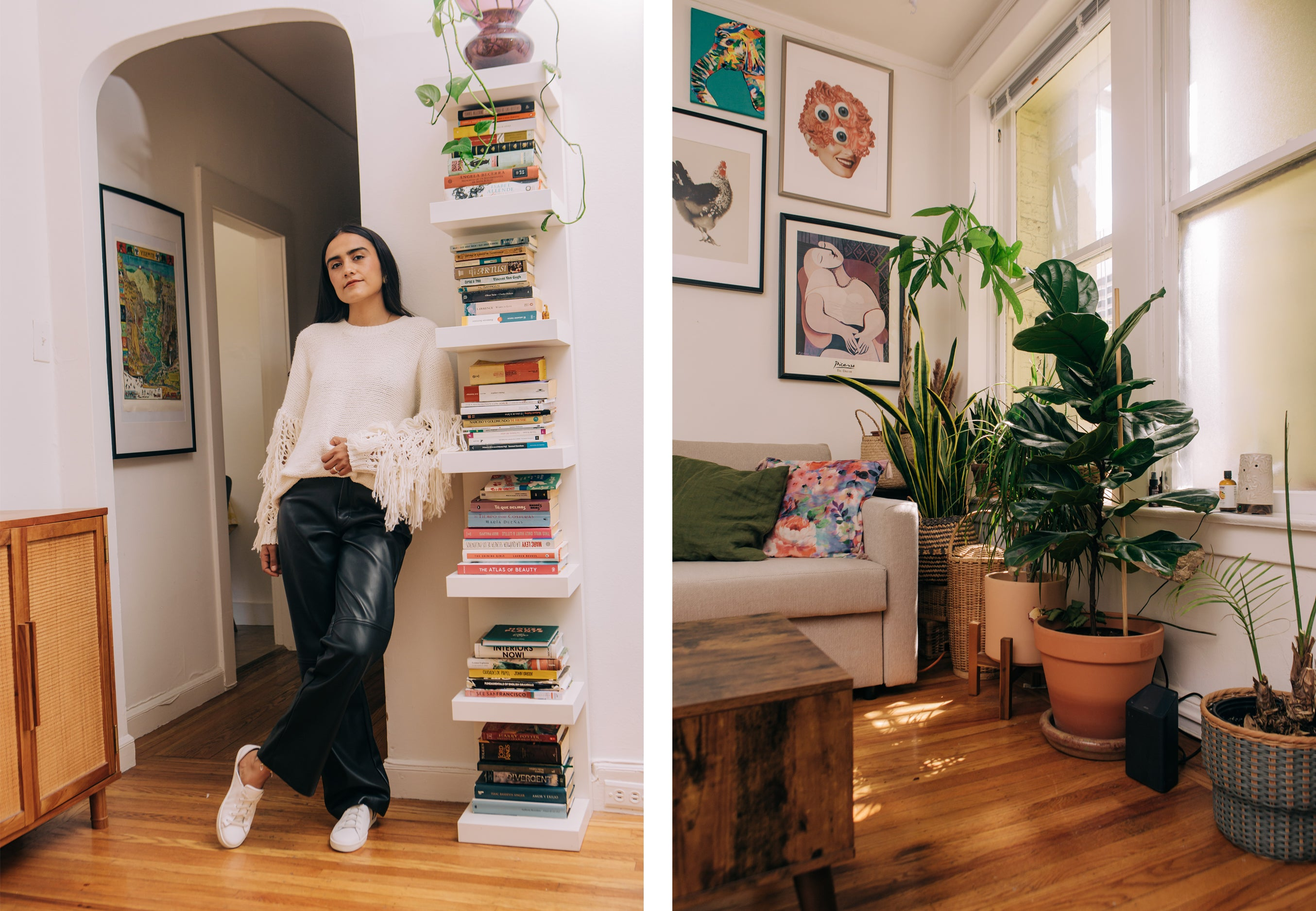 At home with Laura Gelvez