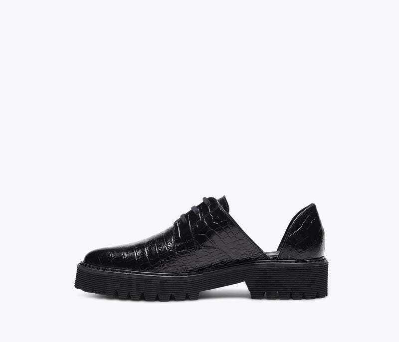 ALANA LUG D'ORSAY OXFORD, [product-type] - FREDA SALVADOR Power Shoes for Power Women