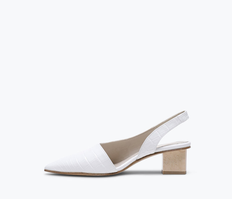 MARIGOLD ASYMMETRICAL MIDHEEL, [product-type] - FREDA SALVADOR Power Shoes for Power Women