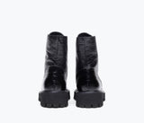 EMI LUG COMBAT BOOT, [product-type] - FREDA SALVADOR Power Shoes for Power Women