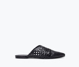HALEY WOVEN MULE, [product-type] - FREDA SALVADOR Power Shoes for Power Women