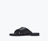 DEW CRISS CROSS SANDAL, [product-type] - FREDA SALVADOR Power Shoes for Power Women