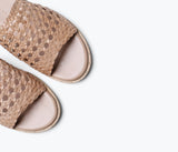 BROOKLYN HANDWOVEN SANDAL, [product-type] - FREDA SALVADOR Power Shoes for Power Women
