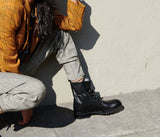 HIKE COMBAT BOOT, [product-type] - FREDA SALVADOR Power Shoes for Power Women