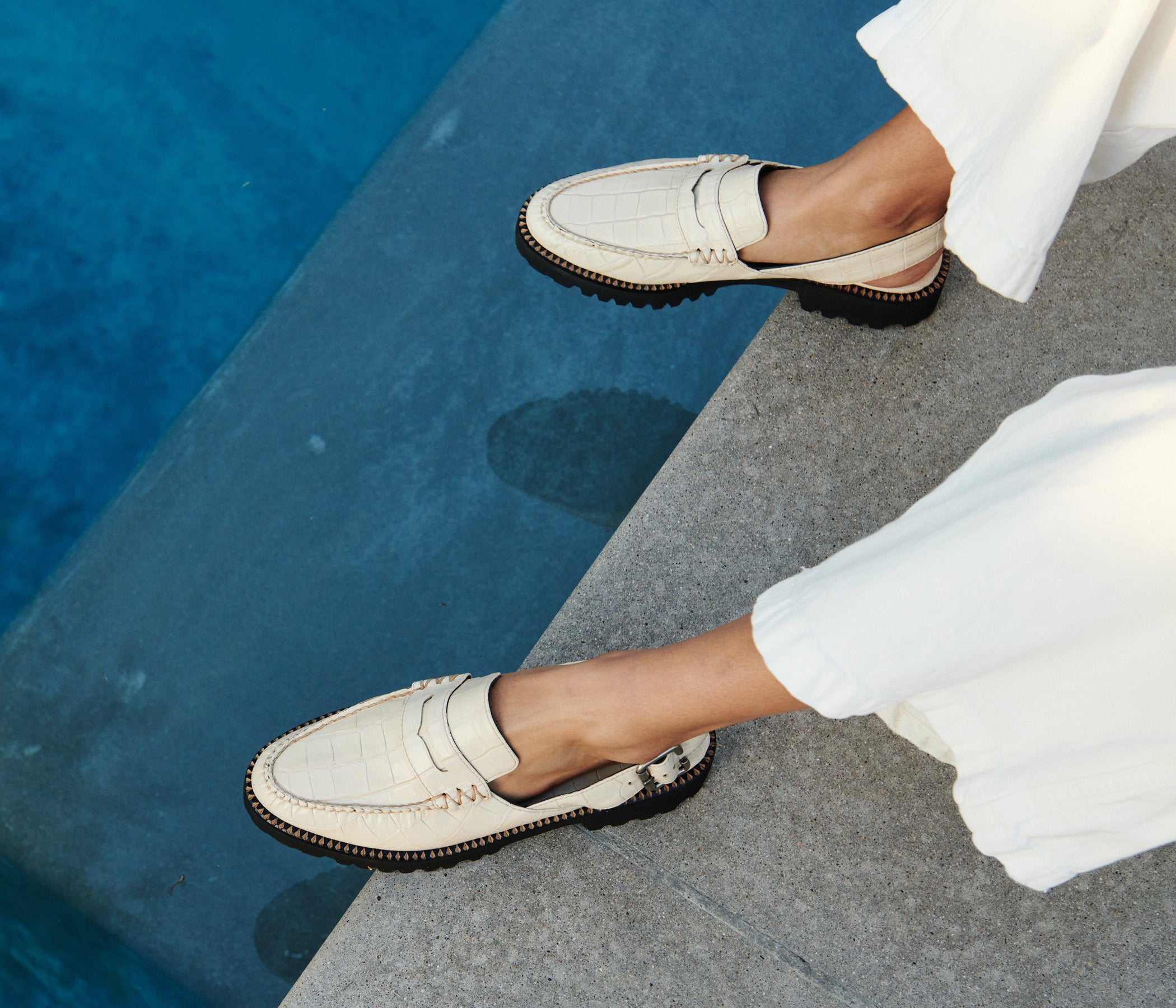JUANA SLINGBACK MOCCASIN, [product-type] - FREDA SALVADOR Power Shoes for Power Women
