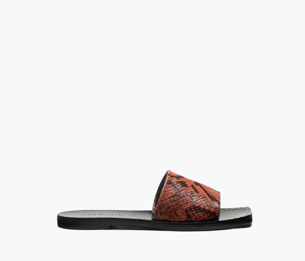 JESSA SQUARE TOE SLIP ON SANDAL - FREDA SALVADOR