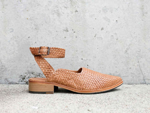 MARBELLA Handwoven Flat - Final Sale - FREDA SALVADOR Power Shoes for Power Women