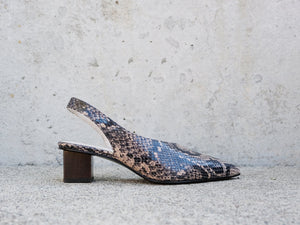 MARIGOLD  Asymmetrical Mid Heel, [product-type] - FREDA SALVADOR Power Shoes for Power Women