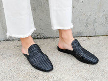 MURPHEY Woven Slip On Mule - Final Sale