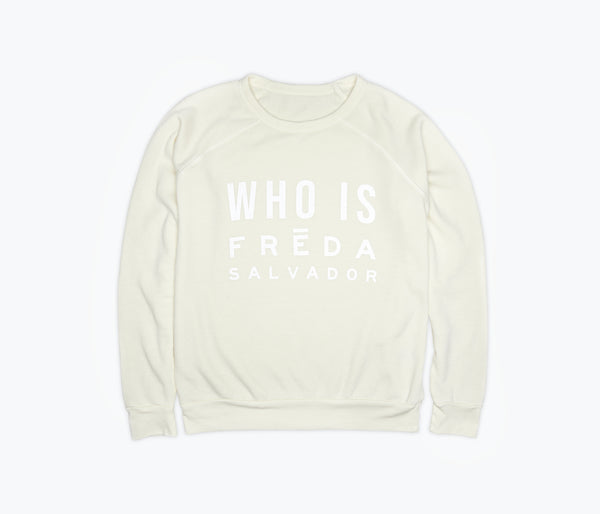 Who is Freda Salvador Sweatshirt - FREDA SALVADOR