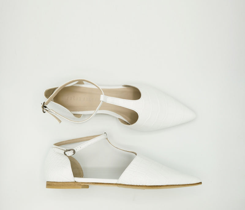 SAMPLE - TULIP FLAT, [product-type] - FREDA SALVADOR Power Shoes for Power Women