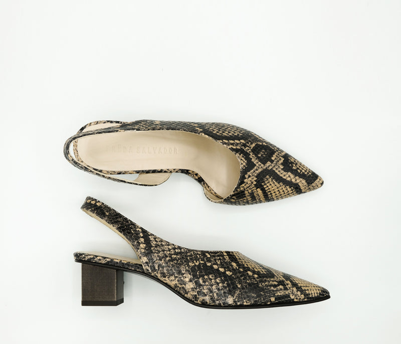 SAMPLE - MARIGOLD HEEL, [product-type] - FREDA SALVADOR Power Shoes for Power Women