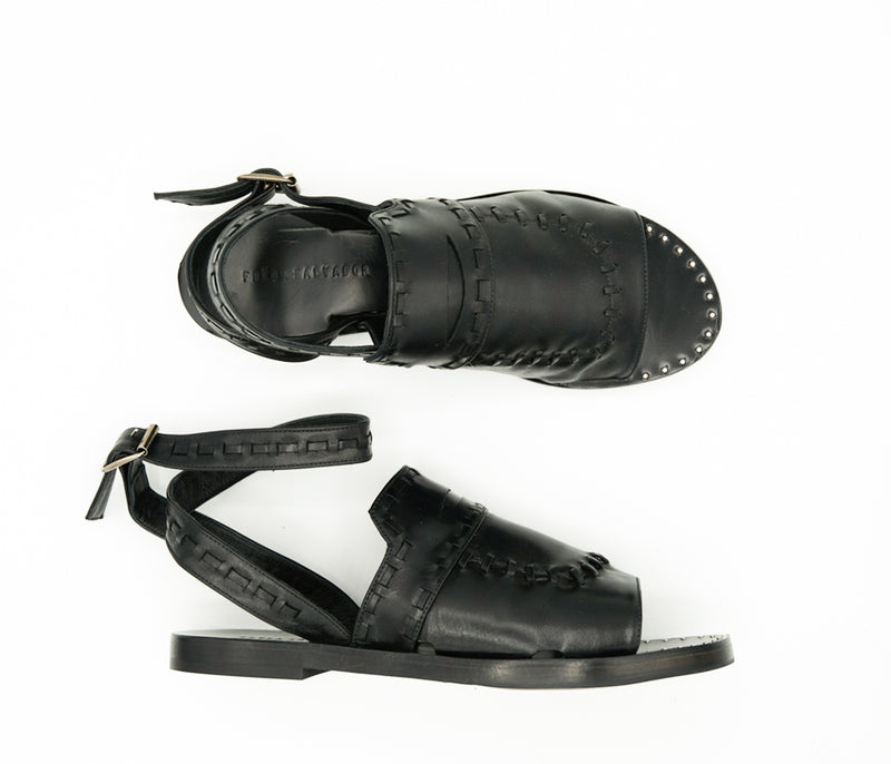 SAMPLE - Penny Sandal, [product-type] - FREDA SALVADOR Power Shoes for Power Women