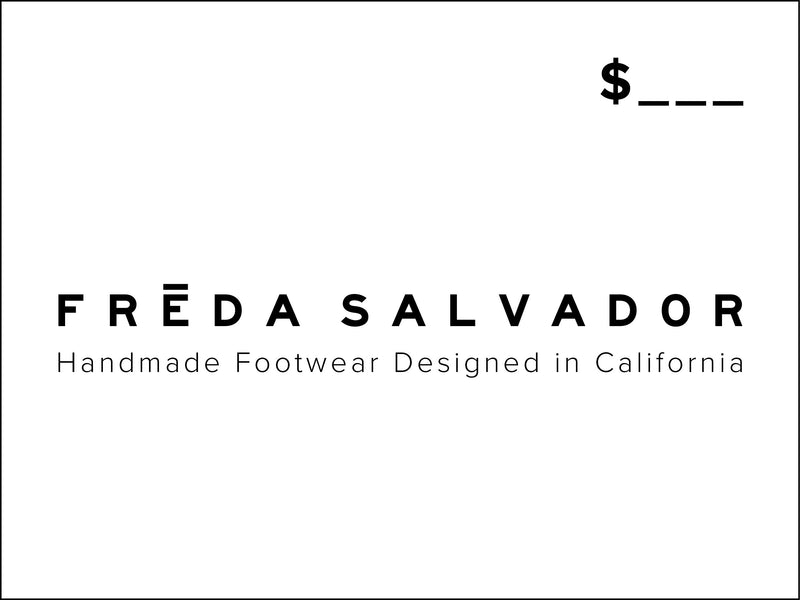 Gift Card, [product-type] - FREDA SALVADOR Power Shoes for Power Women
