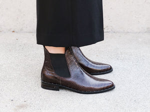 SLEEK Chelsea Ankle Boot, [product-type] - FREDA SALVADOR Power Shoes for Power Women