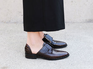 WEAR Laceless d'Orsay Oxford, [product-type] - FREDA SALVADOR Power Shoes for Power Women