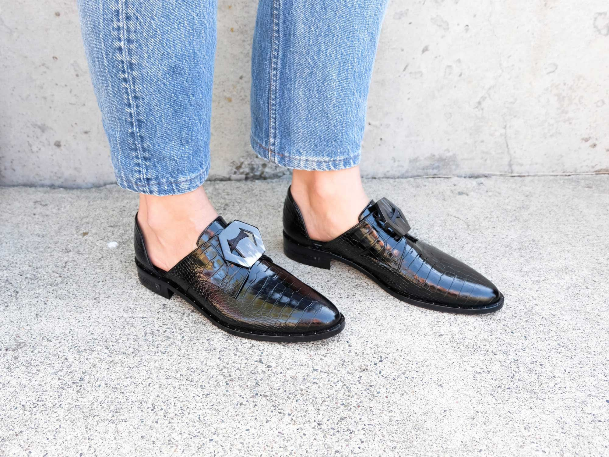 FS X HG WIT d'Orsay Oxford - FREDA SALVADOR Power Shoes for Power Women