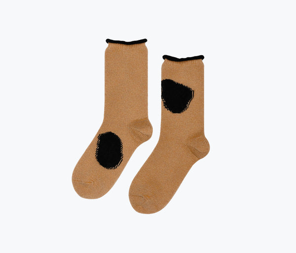 WOOL SPOT CREW SOCK, [product-type] - FREDA SALVADOR Power Shoes for Power Women
