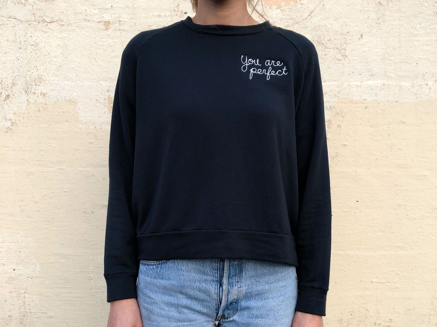 You are Perfect Sweatshirt, [product-type] - FREDA SALVADOR Power Shoes for Power Women
