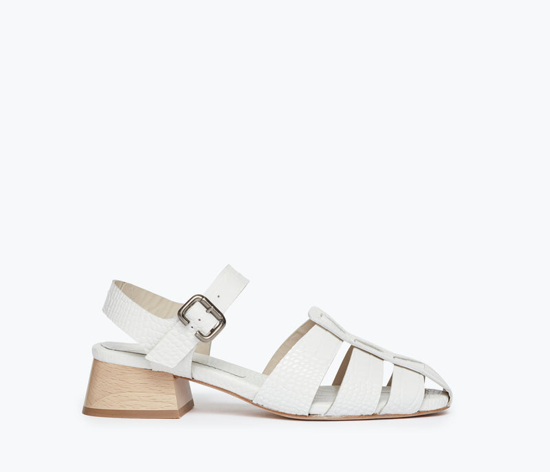 HATTIE FISHERMAN SANDAL, [product-type] - FREDA SALVADOR Power Shoes for Power Women