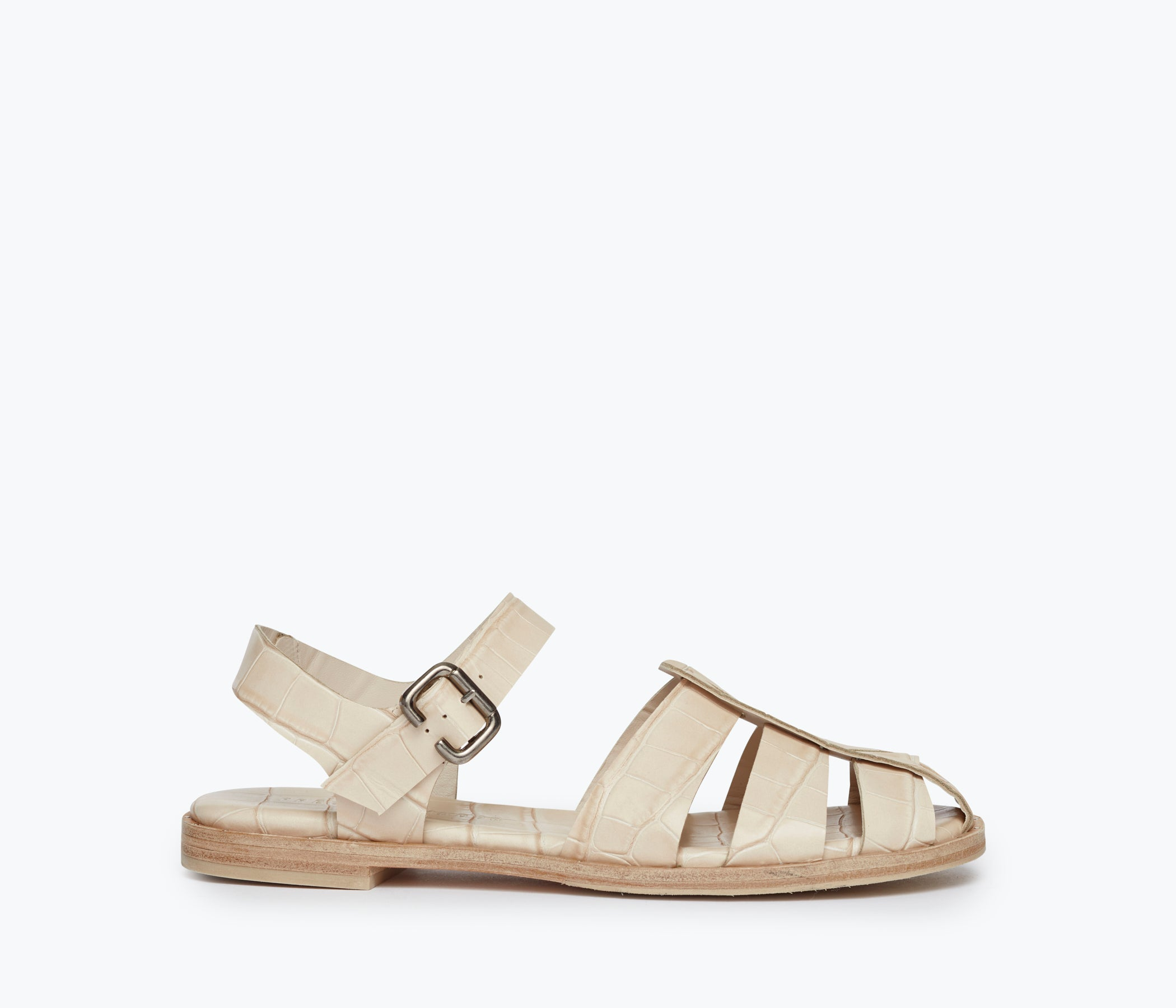 SERA FISHERMAN SANDAL, [product-type] - FREDA SALVADOR Power Shoes for Power Women