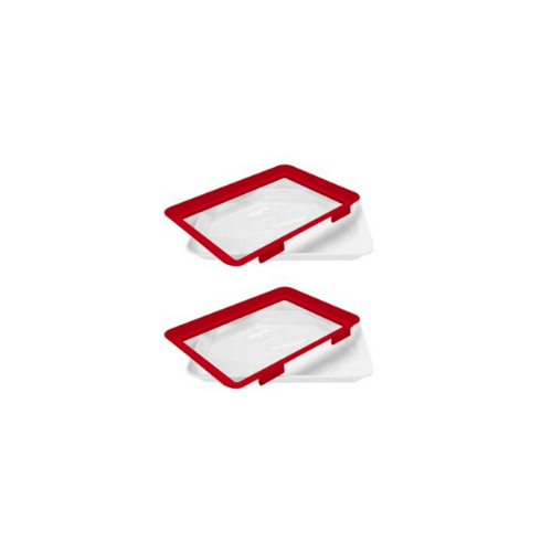 2 Pack- Microwaveable Food Sealing Tray