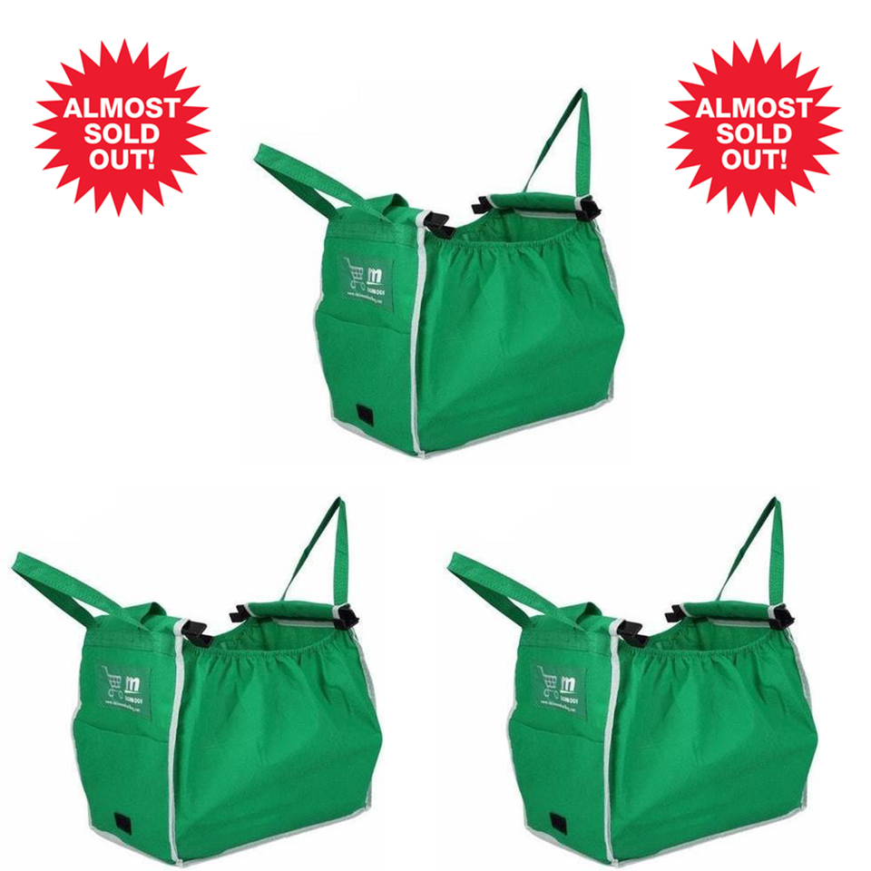 3 Pack- Grocery Bag