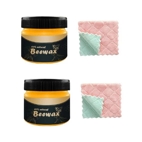 2 Pack - Beeswax Polish
