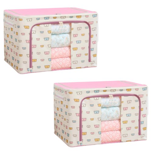 (2 Pack) Easy Storage Box