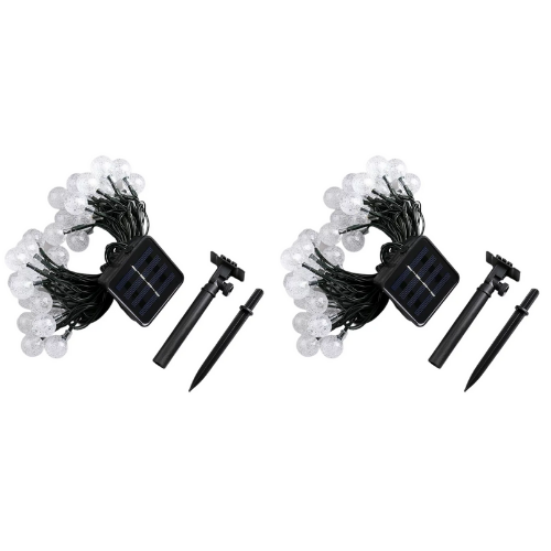 (2 Pack) Patio String Lights
