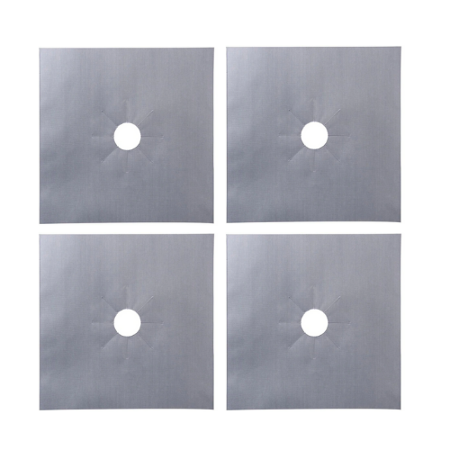 (4 Pack) Reusable Stove Top Cover