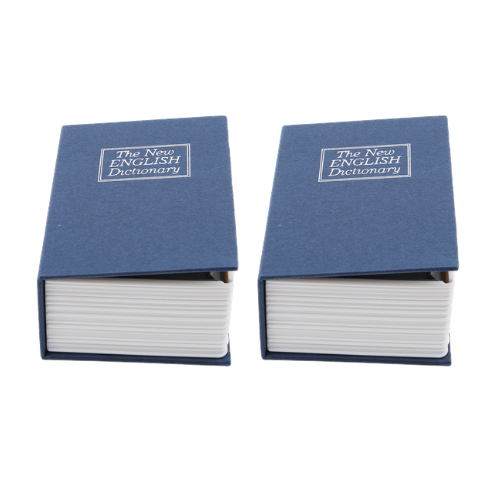 (2 Pack) Secret Book Safe Box