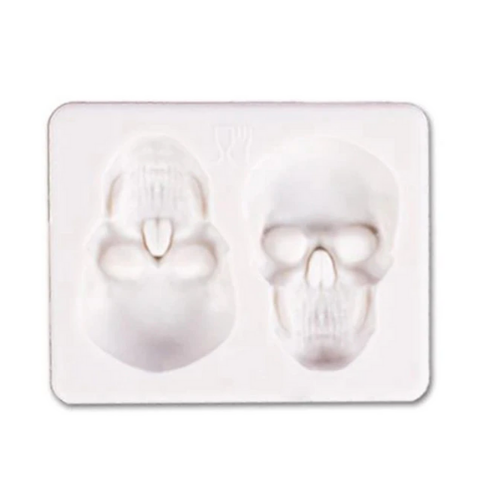 Skull Pizza Cake Mold