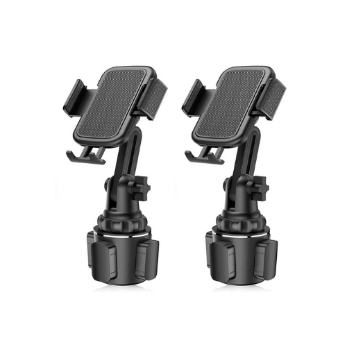 2 Pack - Universal Cup Holder Phone Mount