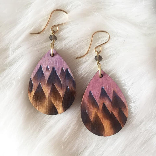 Forest Song Teardrop Earrings