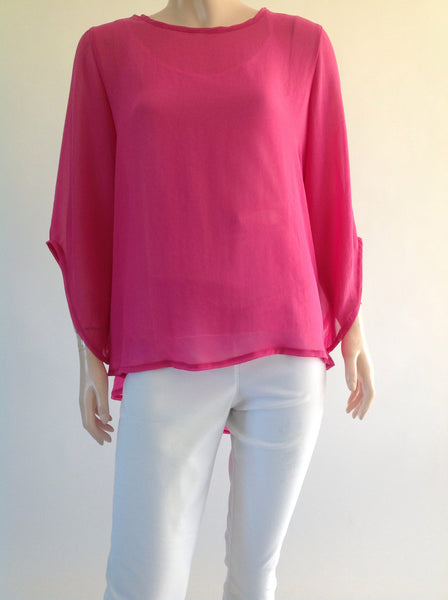 Swing Top with Floaty Sleeve