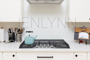 Kitchen Stovetop Wall Mockup