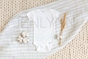 Holiday Baby Bodysuit Mockup Bundle JPG