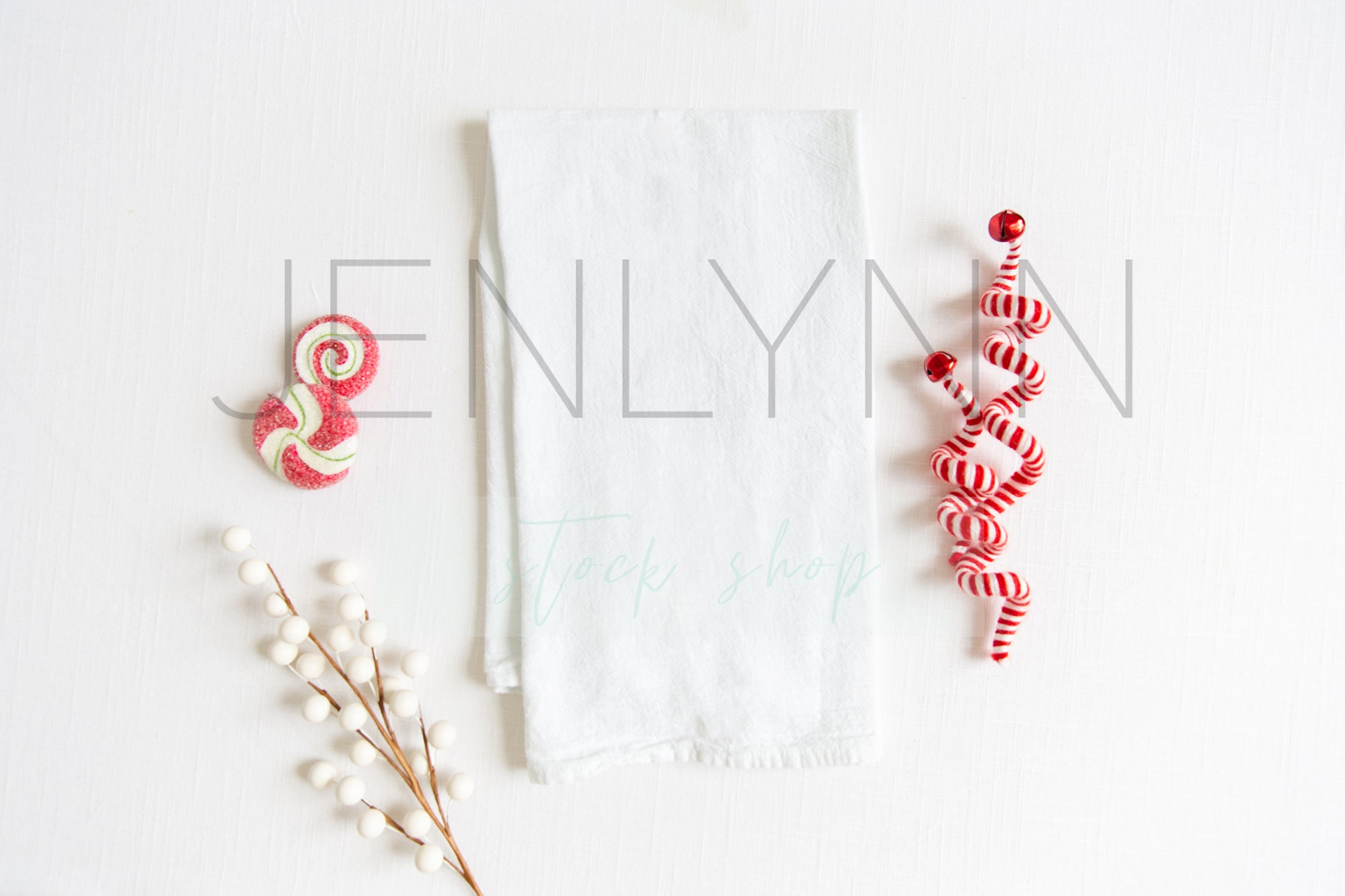Christmas Kitchen Towel Mockup #1 JPG