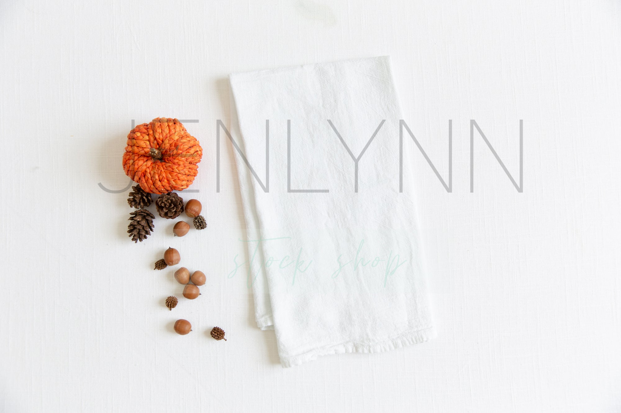 Fall Kitchen Towel Mockup #7 JPG